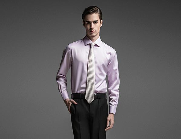 粉丝素色高端长绒棉衬衫