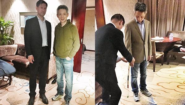 蒋昌建先生量体定制西装