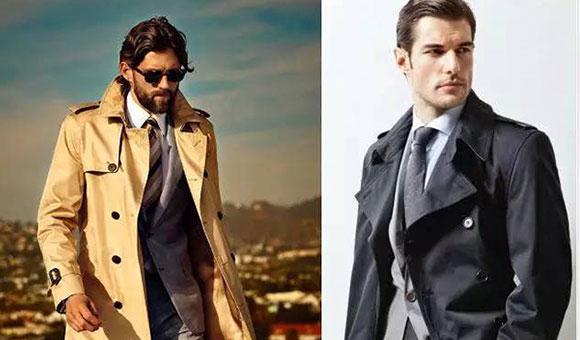 为什么说男士风衣外套要选择定制?