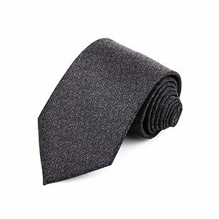 高级灰印花商务领带
