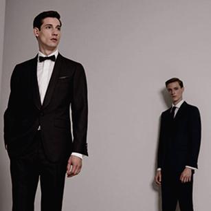黑色经典款轻奢礼服套装